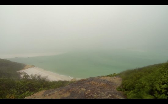 Ocean Rafting : View from the Whitehaven beach and Hill inlet lookout