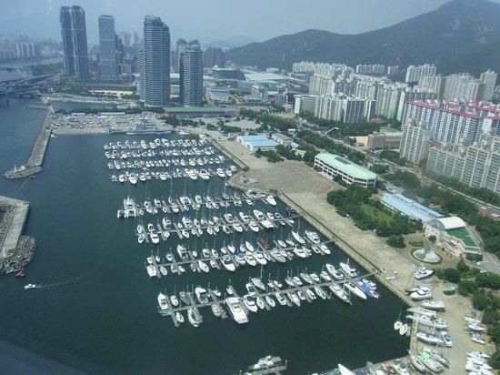 Park Hyatt Busan: 部屋からの眺め