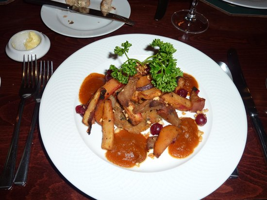 Quince & Medlar: Delicious main course