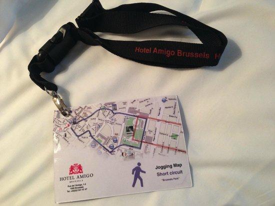 Hotel Amigo: Original idea