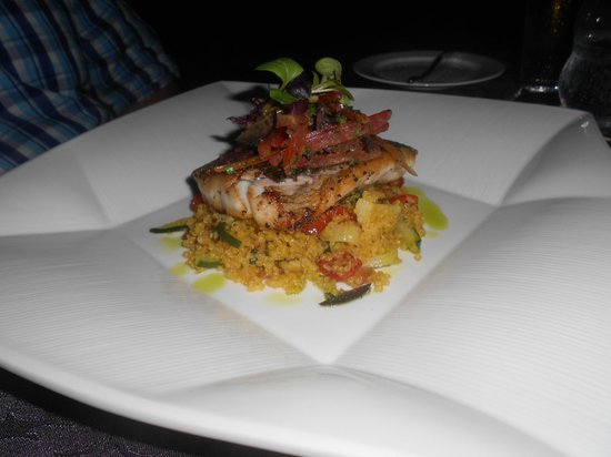 SOS Supper Club: Barramundi with quinoa