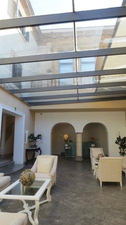 Hotel Villa Athena : La hall