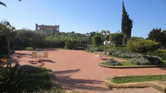 Hotel Villa Athena : Vista dall'Hotel
