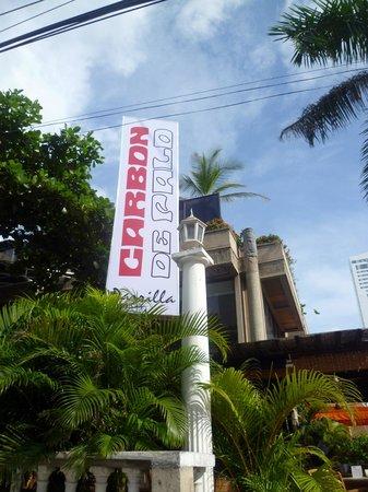 Carbon de Palo: l'insegna