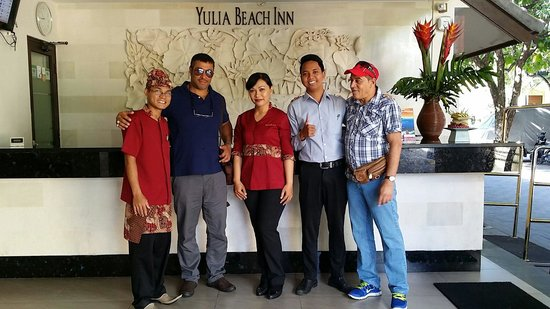Yulia Beach Inn: Nice hotel and very friendly staff /10 March 2014