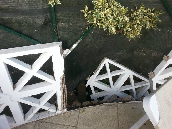 Varandas de Albufeira: cloture terrasse