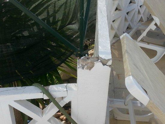 Varandas de Albufeira: cloture  de la terrasse