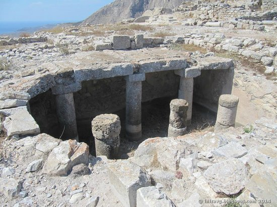 Ancient Thera : Yacimiento