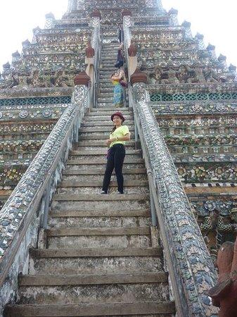 Templo del Amanecer (Wat Arun): Great feeling