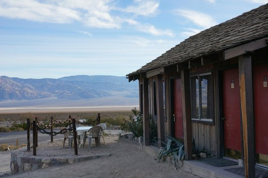 Panamint Springs Resort : rooms with a view ;)