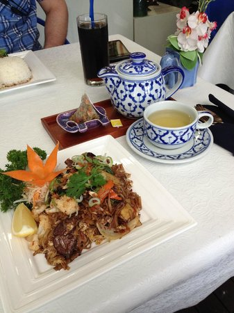 Blue Elephant Thai Restaurant: パッタイ