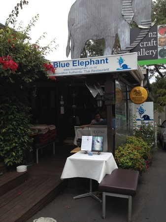 Blue Elephant Thai Restaurant: 外観