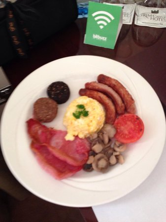 Trim Castle Hotel : Tasted even better than it looks, amazing eggs