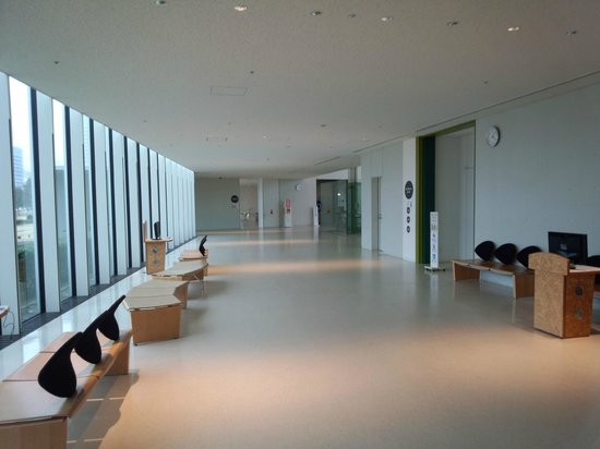 Gas Science Center: 館内2階