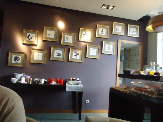 Hôtel Villa C : buffet