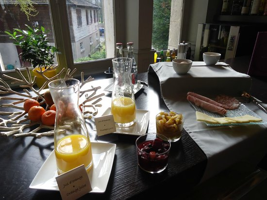Hôtel Villa C : petit déjeuner