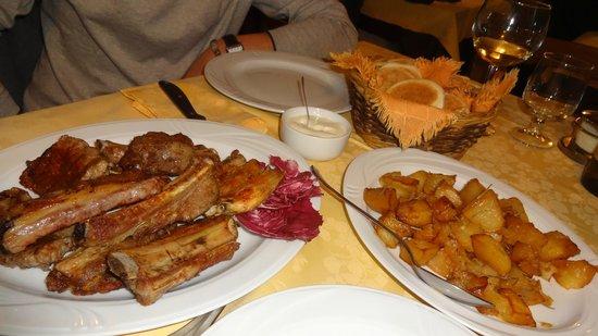 Osteria del Garo: la grigliatona....