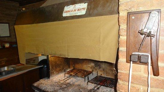 Osteria del Garo: el fuego,,,,,