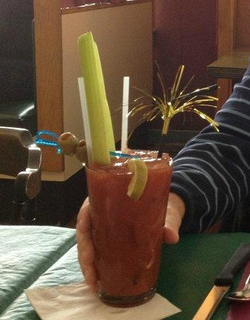 Bull And Claw: Bull & Claw Bloody Mary...Party in a Glass!