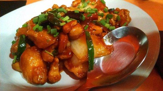 The Gallery Restaurant : Cashew chicken!