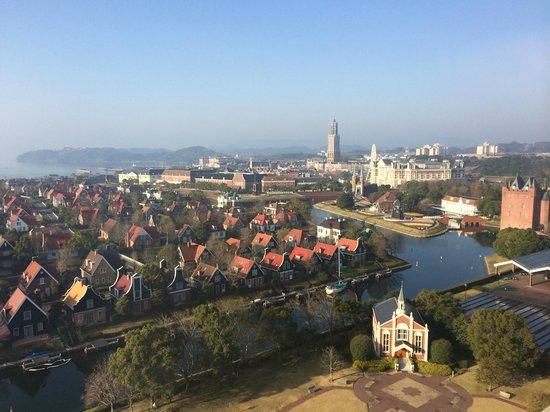 Hotel Okura JR Huis Ten Bosch : 部屋(11階)からの眺め