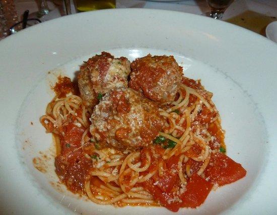 Zingari Ristorante + Jazz Bar: Spaghetti e polpette