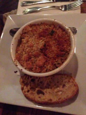 J&J Seafood Bar and Grill : Seafood macaroni.  Not just for kids!
