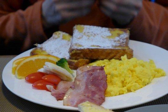 The HuLu Hotel: Breakfast!