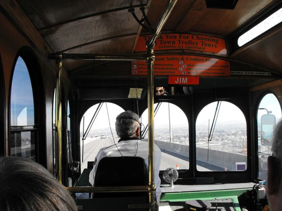 Old Town Trolley Tours of San Diego: Inside Jim's Trolley