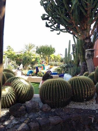 Minigolf Parque Santiago: Piante all'interno