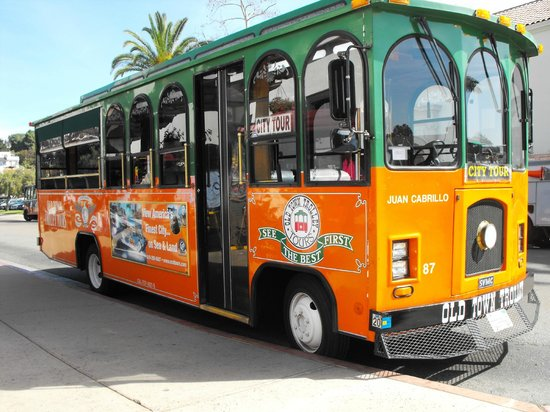 Old Town Trolley Tours of San Diego: The Trolley