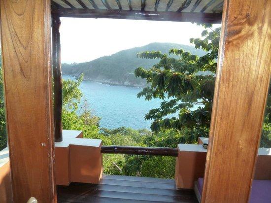Baan Talay Koh Tao: Ausblick vom Balkon 2