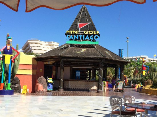 Minigolf Parque Santiago: Ingresso