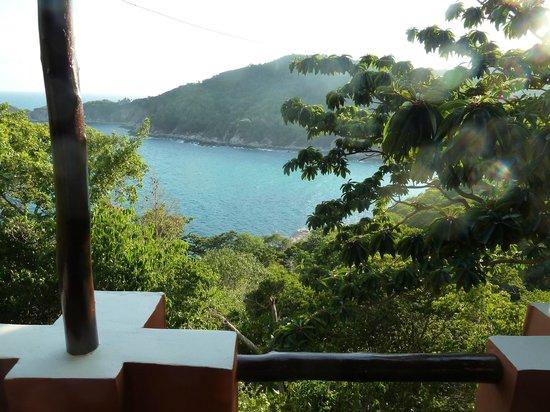 Baan Talay Koh Tao: Ausblick vom Balkon 1