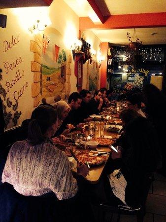Party at Bella Mia ristorante