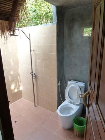 Baan Talay Koh Tao: Offenes Bad