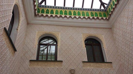Casa Rural Sidonia: Patio interior