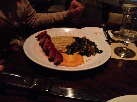 Seaglass Oceanfront Restaurant & Lounge : Duck entree