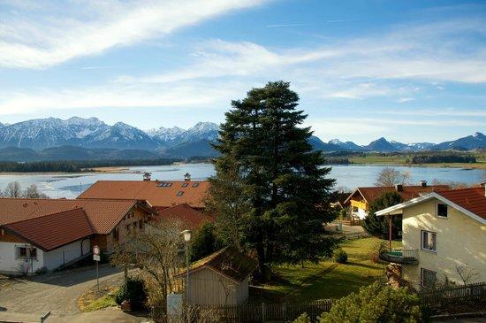 Hotel Alpengluehn: Aussicht