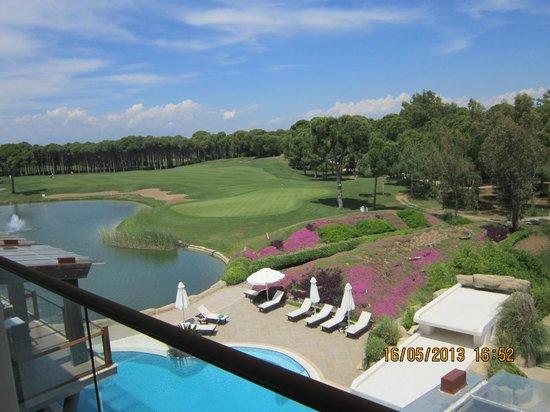 Sueno Hotels Golf Belek: Вид на поля