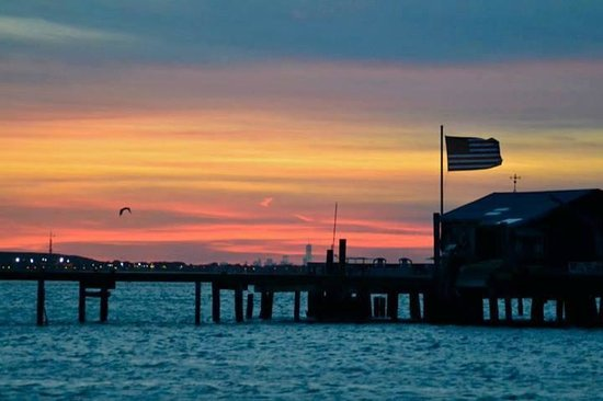 Freeport Water Taxi & Tours: Photo taken by Sydney Cohen During a Beautiful Sunset Cruise