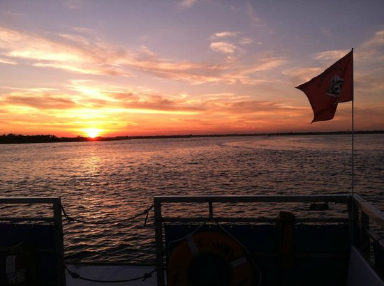 Freeport, NY: Photo Taken By Emily Cohen during a Sunset Cruise on the FWT&T boat