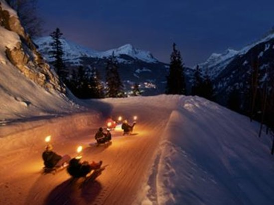 Evolution 2 Val d'Isere: Dinner and luge activity