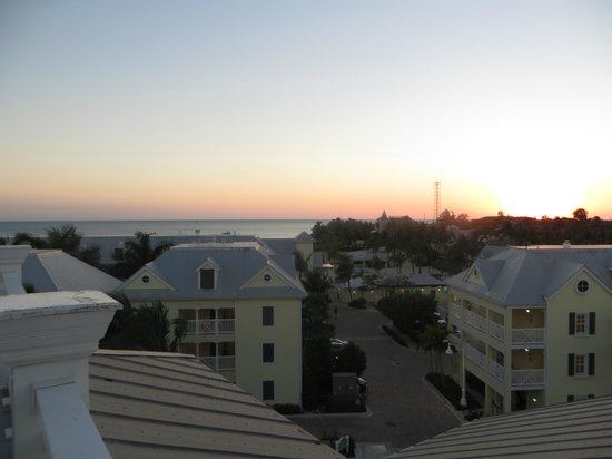 The Reach, A Waldorf Astoria Resort : View from the hotel's rooftop deck