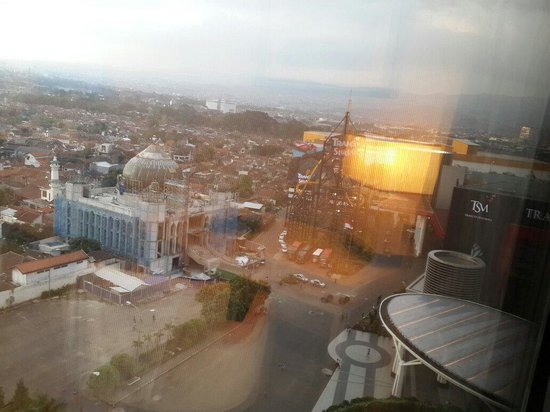 The Trans Luxury Hotel Bandung: View from 1207