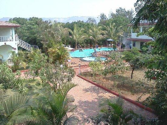 Govinda Resort: View of the Swimming Pool