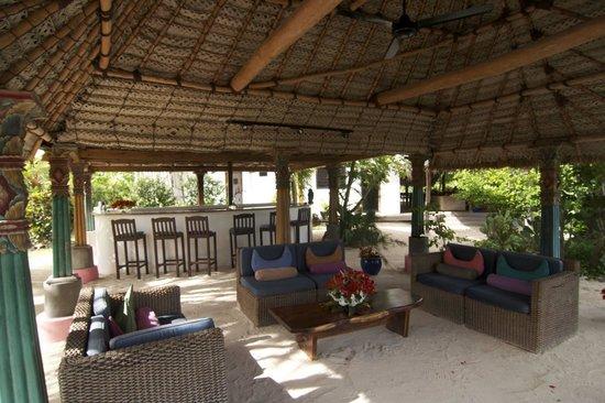 Navutu Stars Fiji Hotel & Resort: Bar area