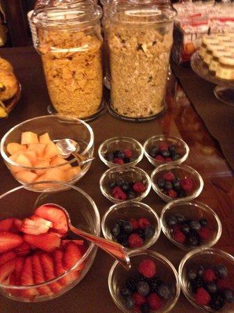 Glam Boutique Hotel: Delizia di frutta