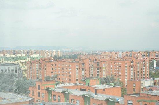 Bogota Marriott Hotel: Window view 9th floor