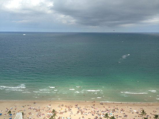 Beach Place Towers Fort Lauderdale: View from rooftop lounge